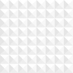 White Seamless Pattern Triangle Square