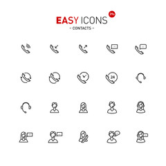 Easy icons 29a Contacts