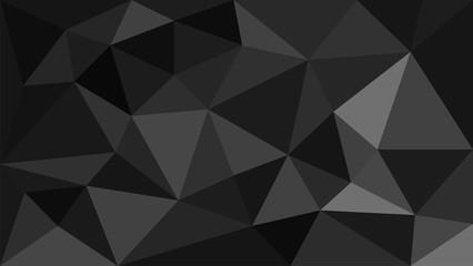 black geometric background