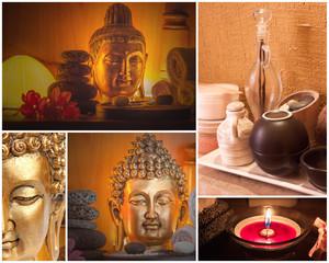 décoration zen institut de massage