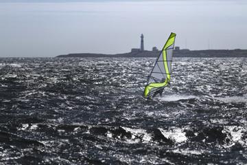 Windsurfer  in Norwegen