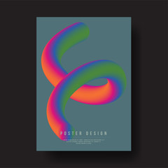Abstract Modern Liquid Color Shapes Cover Design layout for banners, wallpaper, flyers, invitation, posters, brochure, voucher discount - Vector illustration template