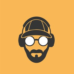 Portrait of a man in a baseball cap