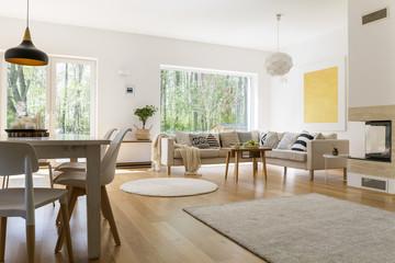 Stylish design of room