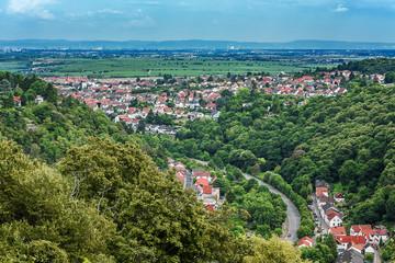 Blick über Bad Dürkheim