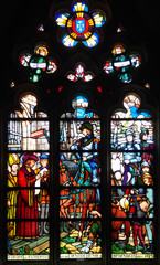 vitrail Eglise Ste Madeleine - MONTARGIS