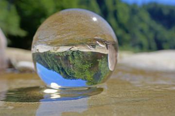 kristallkugel, sense, bern, schweiz