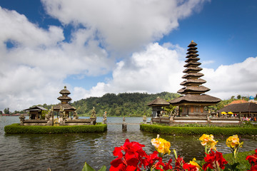 Ulun Danu Beratan is a major Shaivite water temple on Bali, Indonesia.