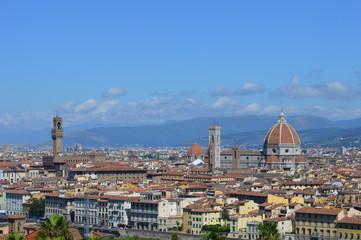Le Duomo depuis le Belvedère