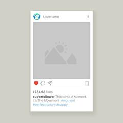 Mobile app photo frame