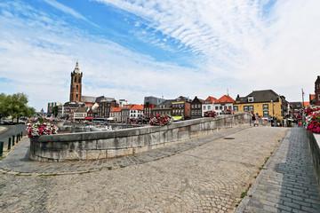 Blick über die Rurbrücke in Roermond