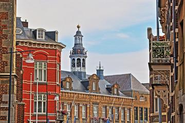 Roermond, Blick zum Rathausturm