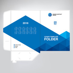 Business folder for files, design.