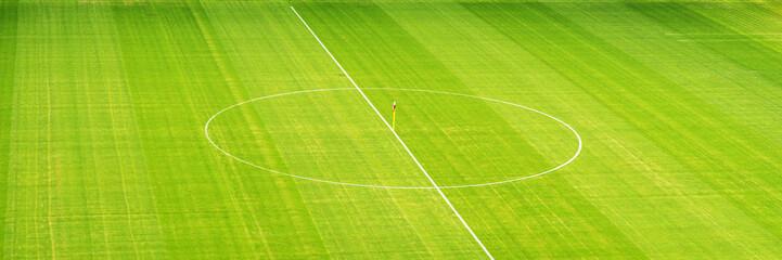 Stadion Mittelkreis von oben