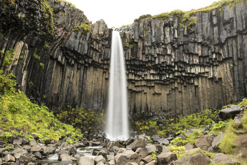 Skaftafell Waterfall Long Exposure