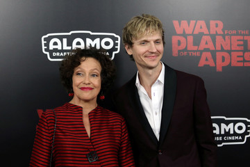 """Konoval and Rook are seen on the red carpet at a screening of """"War for the Planet of the Apes"""" in Manhattan"""