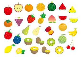 フルーツ素材セット