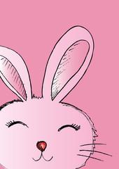 Cute Rabbit Sketch