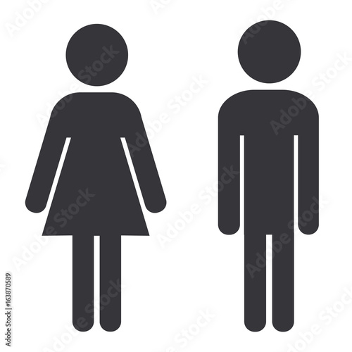 Bathroom Sign People Stock Image And Royalty Free Vector Files On