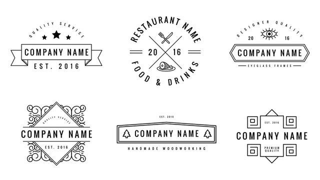 Artisanal Logo Templates