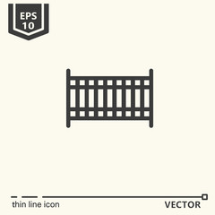 Thin line icon - Curler