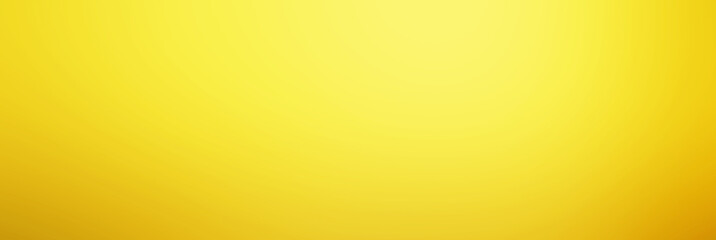 Abstract yellow  background with gradient, blur texture with copy space, poster for your design.. Wall mural