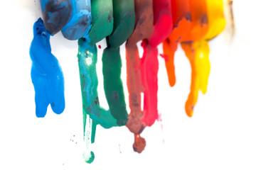 crayon melted art