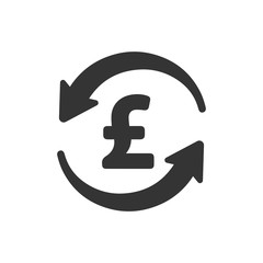 Pound Conversion Icon