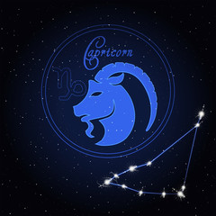 Capricom Astrology constellation of the zodiac