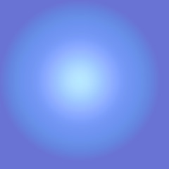 blue gradient lence flare effect background