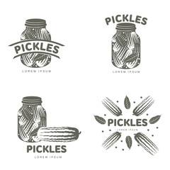 Pickles logo templates