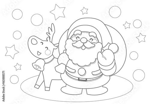 クリスマスぬりえ Stock Image And Royalty Free Vector Files On