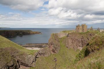 Castle of Dunnottar in Scotland