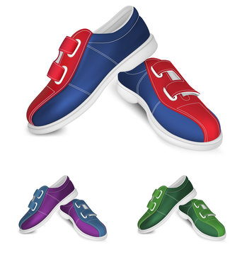 Bowling shoes template
