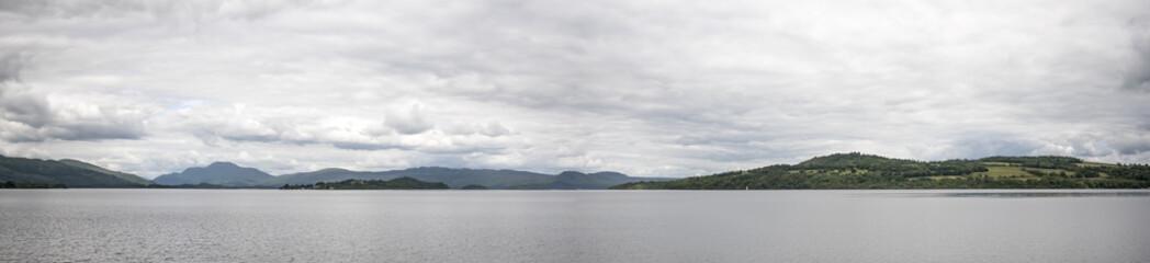Loch Lomond, Scotland - panorama