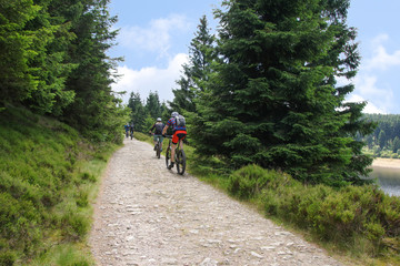Hiking, Trekking, Nationalpark Harz, Mountainbiking, Mountainbike, Funsport