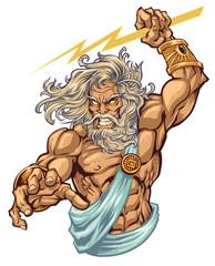 Zeus Illustration I created