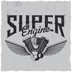 Super Engine Poster