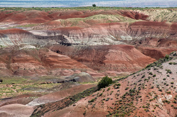 Painted Desert at Petrified Forest National Park