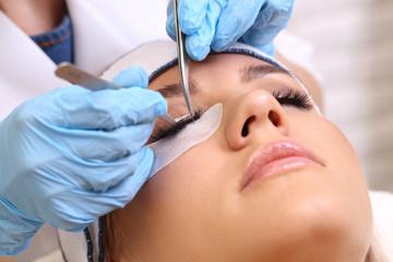 Eyelash Extension Procedure