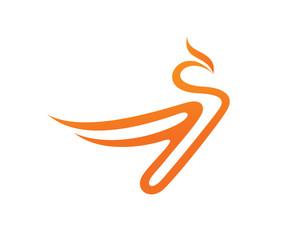 Bird and Phoenix Logo