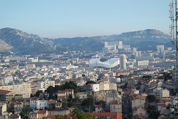 View over Marseille