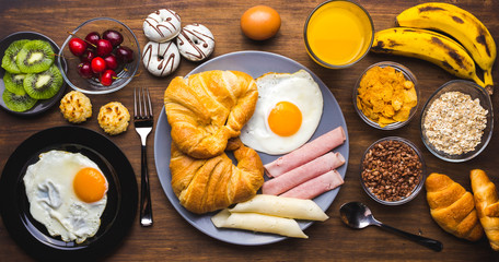 Different types of breakfasts to start the day
