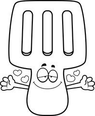 Cartoon Spatula Hug