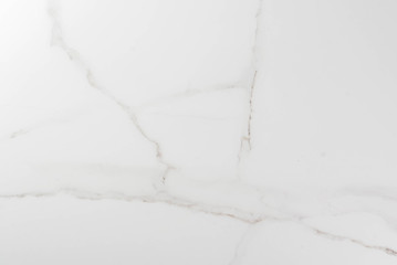 White marble background. Kitchen table, surface, stone. Copy space