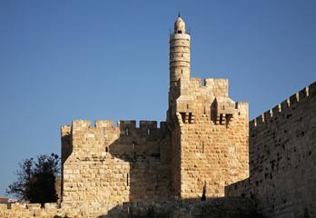 Tower of David in Jerusalem. Israel