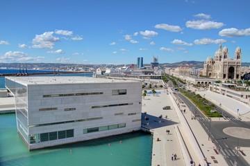 Marseille: vieux port, le mucem et le fort saint jean