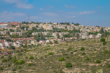 Ariel city view
