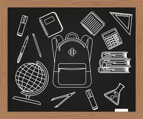 School. Vector illustration.