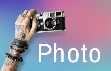 Photo Camera Creative Design Icon
